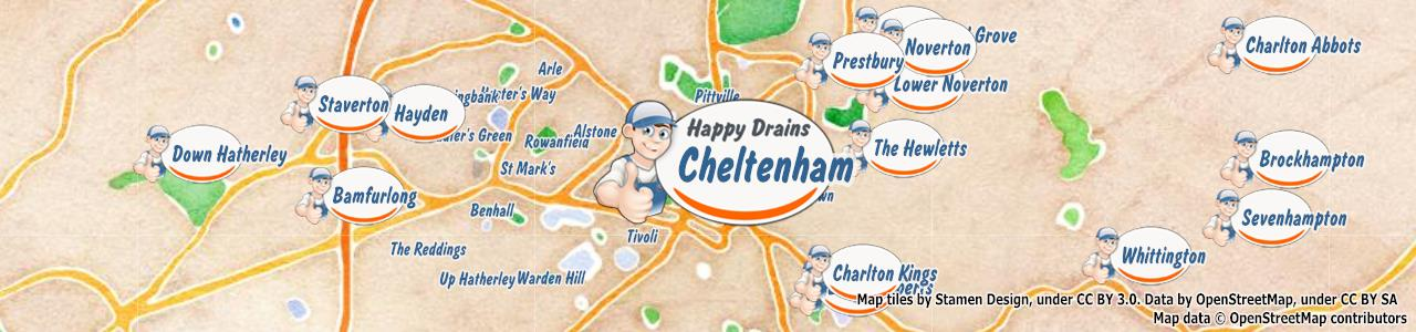 Cheltenham GL50 blocked drain clearance cleaning repair – Happy Drains